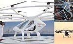 """بالفيديو : دبي تبدأ تجارب """"التاكسي الطائر"""""""