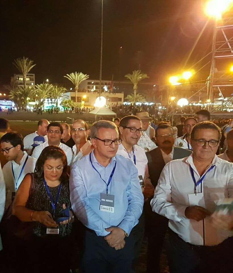 """أكادير : 2200 رجل أمن """"حرسوا"""" مهرجان التسامح بحضور أخنوش وأوجار"""