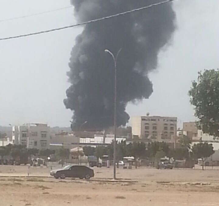 عااااجل بالصور : حريق يلتهم مستودعا بأيت ملول ضواحي أكادير
